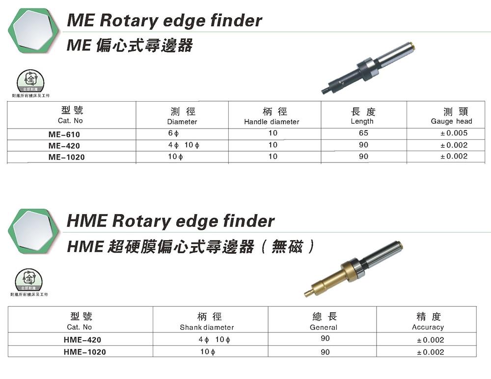 Me420 hme420 4 10mm ponta de prova