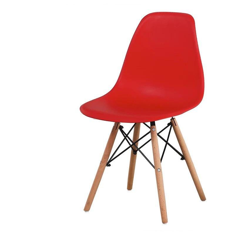 Минималистичный современный стул для отдыха, черный стул для гостиной, домашняя Обеденная Мебель для ресторана, скандинавский диван, спинка, оттоманская - Цвет: B