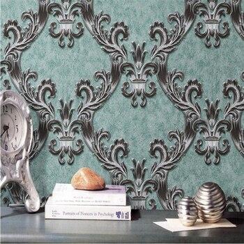 beibehang High - grade luxury Swan Castle TV sofa background non - woven fabric wallpaper papel de parede para quarto