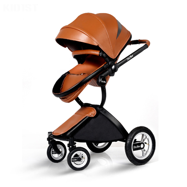 European Style Baby Stroller  High Landscape Newborn pram  High Quality Luxury Umbrella carts Light Folding Baby Carriage