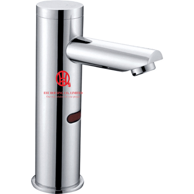 Free Shipping Brass Sensors Mixer,chrome Finished,use For Commercial Place And Public Place