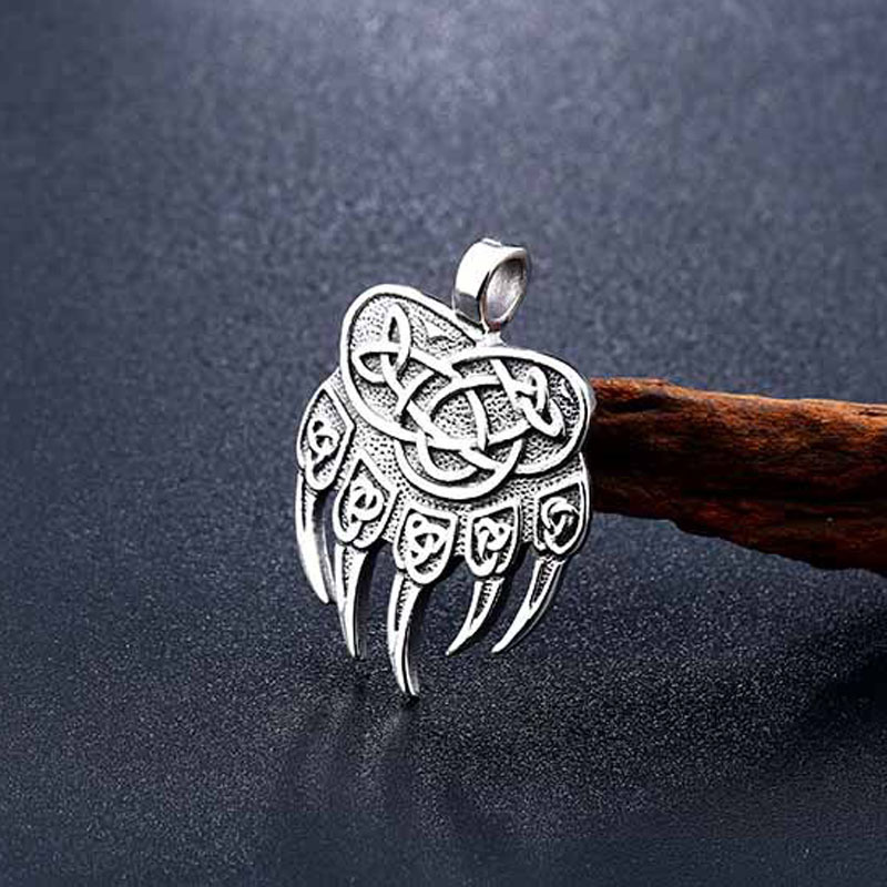 Pendentifs Viking ours griffe  2