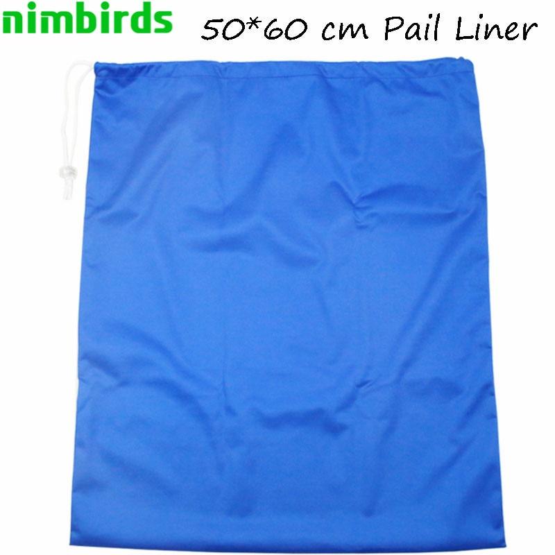 50*60 Cm Drawstring Bag And Waterproof Travel Wet Bag Single Pocket  Diaper  Pail Liner Bag