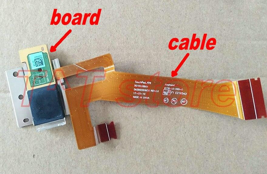 Original pour Thinkpad X1 carbone 5TH 2017 doigt empreinte digitale dispositif carte câble DA30000HM30 fonctionne bien livraison gratuite
