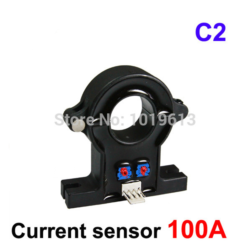 C2-100A Open loop hall effect current sensor 21mm hole diameter  split core current transducerC2-100A Open loop hall effect current sensor 21mm hole diameter  split core current transducer