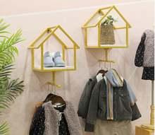 Стеллаж для магазина одежды настенный подвесной стеллаж детской