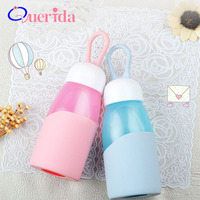 Creative Portable Hand Held Small Water Drop Glass Cup Cute Heat Resistant Readily Tea Cup Fashion