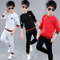 2017 New Fashion Kids Clothes Set Cotton Long Sleeve Shirt+Pants Girls Boys Causal Suits Kids Clothing