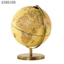1 шт./вращающийся архаистический глобус, настольный декор, высокое разрешение, карта мира, модель, Школьные Инструменты для образования, Декор для дома и офиса, подарки