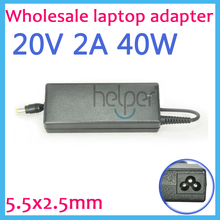 20V 2A 40W Laptop computer Ac Adapter Charger for Lenovo Ideapad S9 S10 M9 M10 U260 U310 ADP-40NH B PA-1400-12