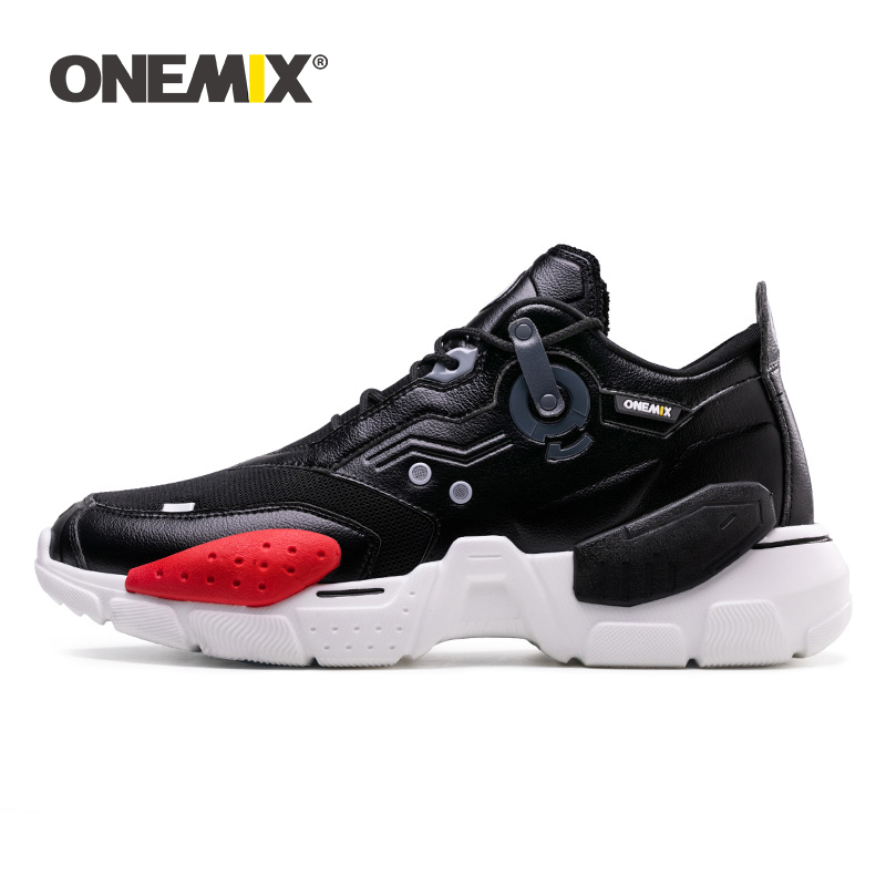 Onemix Men Sneakers Leather Running Shoes for Men Outdoor Walking Mens Shoes Sports Fashion Professional Trainers Sneaker ShoesOnemix Men Sneakers Leather Running Shoes for Men Outdoor Walking Mens Shoes Sports Fashion Professional Trainers Sneaker Shoes