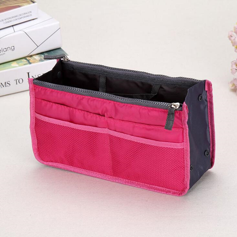 Makeup Portable Tool Organizer Travel Toiletry Washing Cosmetic Bag Storage Case 14 color все цены