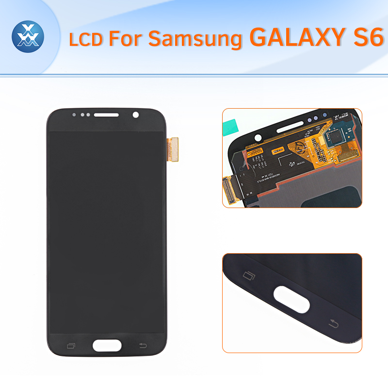 ORIGINAL BRAND NEW Lcd Screen For Samsung Galaxy S6 G920 Lcd Display Touch Screen Digitizer Assembly S6 Lcd Screen Display