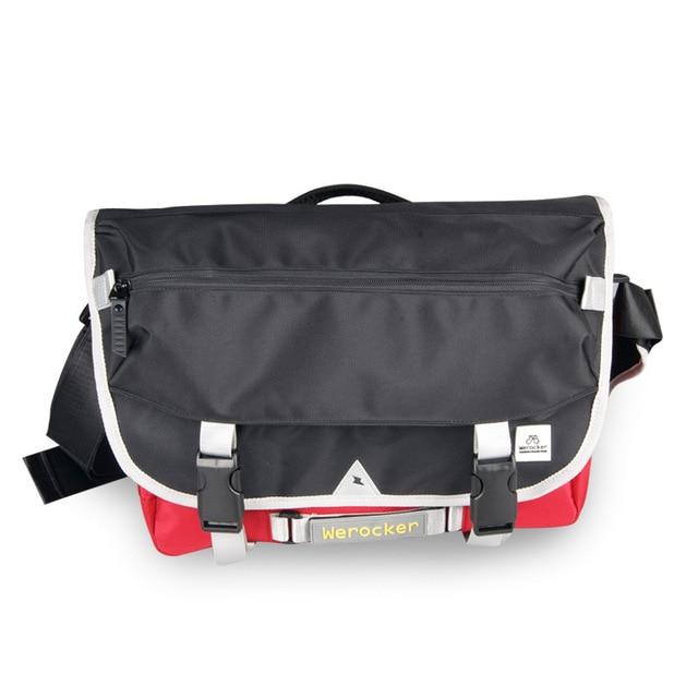 f8edef50aba93 1000D Solid Oxford Men Crossbody Messenger Bag Boys Large Capacity Nylon  Black Red Shoulder Messenger Bags Boy Teenagers Flap