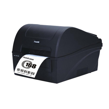 High quality desktop postek C168 barcode label thermal printer 300dpi cloth hang tag price label printing machine