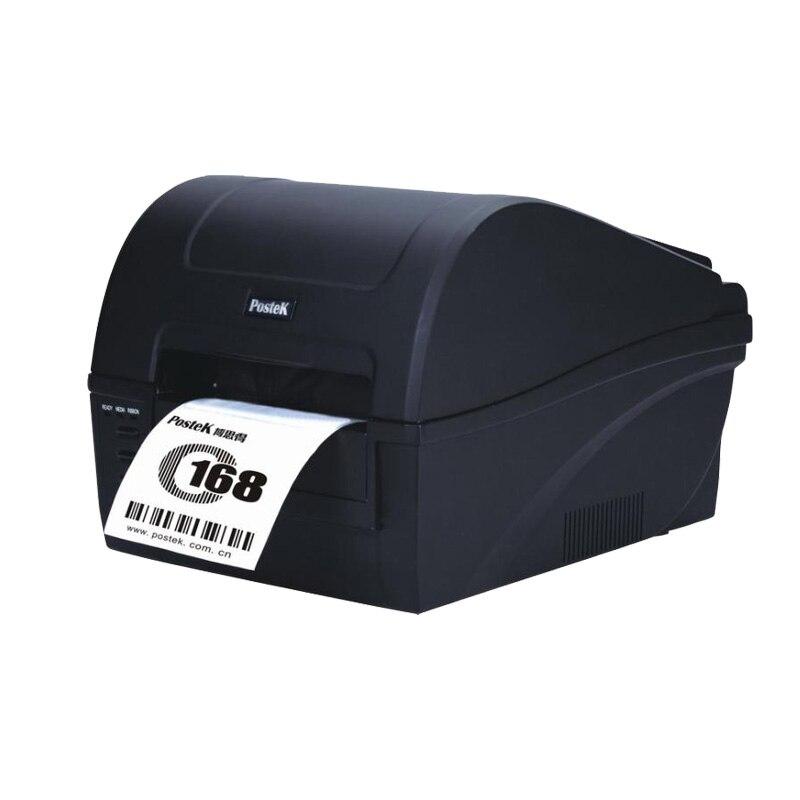 Yüksek kaliteli masaüstü postek C168 barkod etiket termal yazıcı 300 dpi bez asmak etiketi fiyat etiketi baskı makinesi