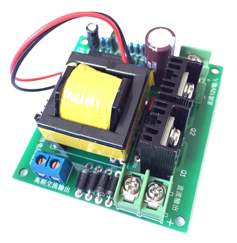 dc ac converter 12v to 110v 200v 220v 280v ac 150w inverter boost board transformer [ 1464 x 1500 Pixel ]