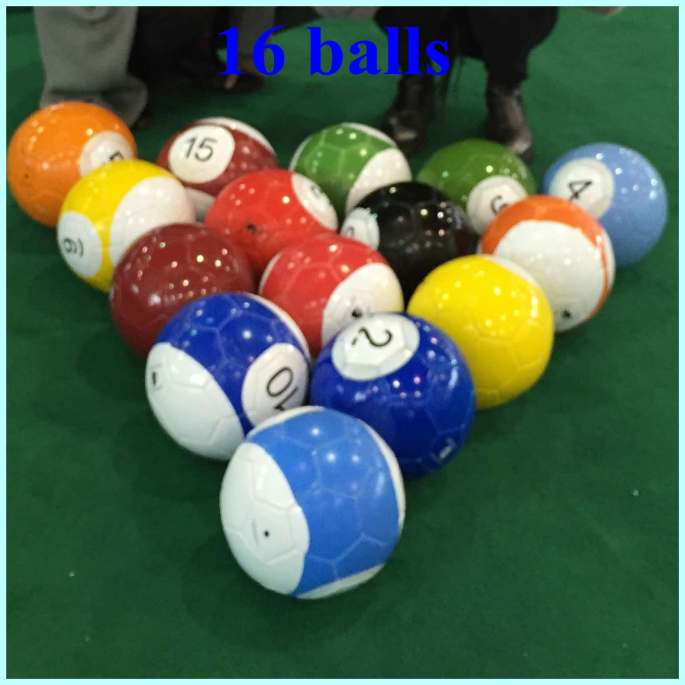 Soccer Ball Football With Numbers For Snookballpoolballsoccer - Huge pool table