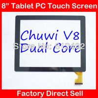 8 Inch Capacitive Touch Screen Digitizer Glass Replacement For CHUWI V8 DUAL CORE TOPSUN D0014 A1