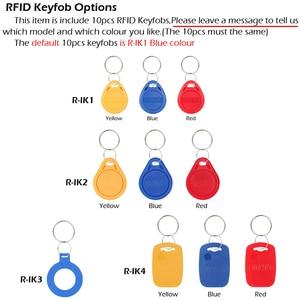 Image 5 - نظام التحكم في الوصول إلى الباب RAYKUBE مع جهاز قراءة البصمة الحيوية مزود بكاميرا وبطارية احتياطية قفل إلكتروني قفل أمان للأبواب