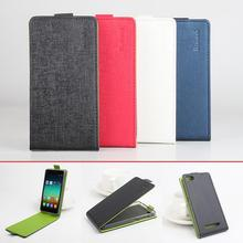 Phone Cases For Xiaomi M4i Fashion Hit Color Flip PU Leather Case Cover For Xiaomi M4i Card Slot