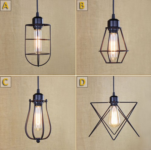 Loft Retro Droplight Edison Vintage Industrial Lighting Pendant Light Fixtures For Dining Room Hanging Lamp retro loft style iron glass edison pendant light for dining room hanging lamp vintage industrial lighting lamparas colgantes