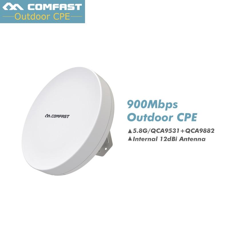Outdoor cpe 5 8g 900mbps outdoor wifi access point bridge - Repeteur wifi exterieur longue portee ...