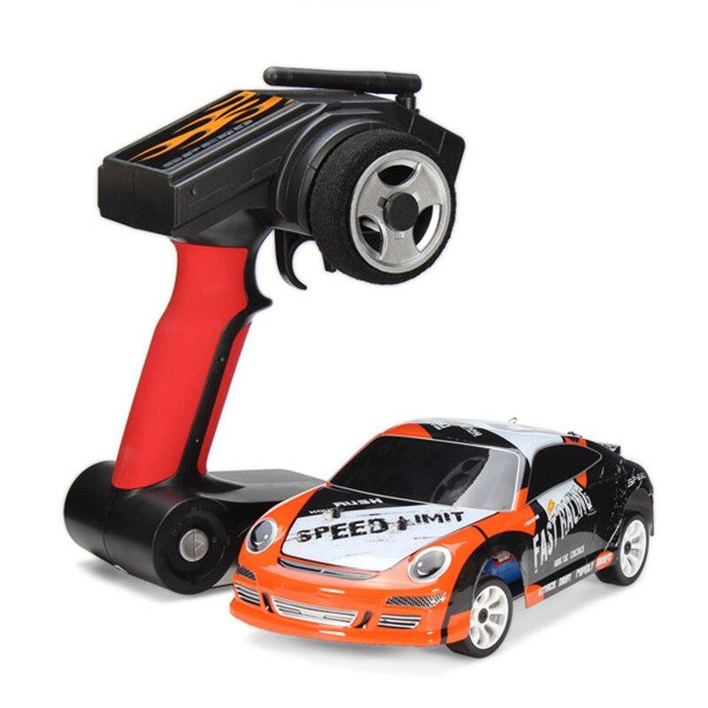 Wltoys A252 1/24 RC Racing Car 4WD Drift Remote Control Toys Car With 7.4V 500mAh lithium Battery RTR радиоуправляемая машина для дрифта hpi racing rs4 sport 3 drift subaru brz 4wd rtr масштаб 1 10 2 4g