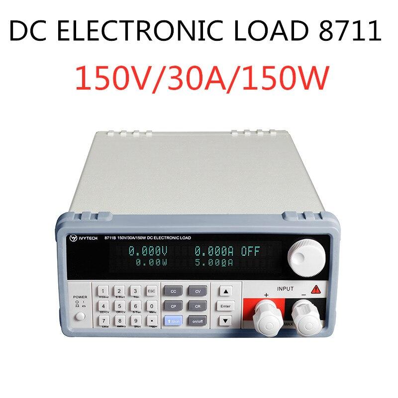 Charge électronique DC pour lignes de Production commutation de batterie et alimentation linéaire 150 V/30A/150 W IV-8711 Protection de polarité d'essai