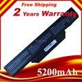 5200 mah reemplazo de la batería del ordenador portátil para hp compaq 510 610 615 6720 6730 6735 6820 6830 s 451086-161 451568-001