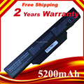 5200 mah substituição da bateria do portátil para hp compaq 510 610 615 6720 6730 6735 6820 6830 s 451086-161 451568-001