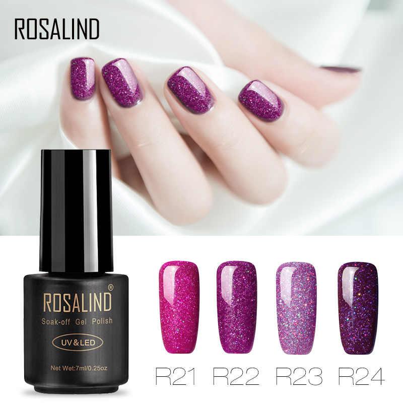 Rosalind Nagellak 7 Ml Regenboog Serie Nagellak Gel Nail Art Ontwerp Losweken Gel Vernissen Semi Permanente Uv Led gel Lak