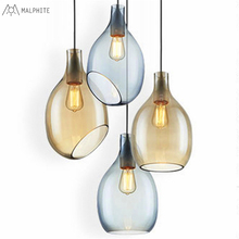 цены на Nordic Creative Restaurant Bedside pendant lights glass hotel bar modern simple pendant lamp single head hanging light fixtures  в интернет-магазинах