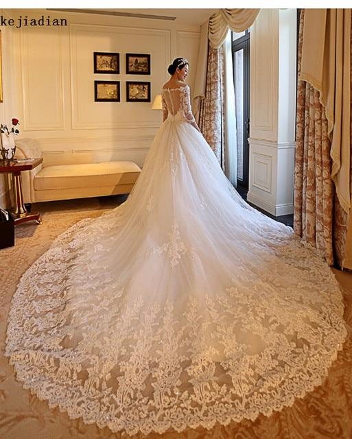 Royal Cathedral Wedding Dress Fashion Dresses