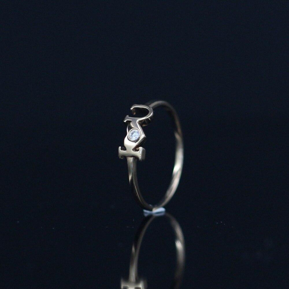 LASAMERO Rings for Women 0.023CT Round Cut Natural Diamond Ring 18k Yellow Gold Engagement Wedding Ring