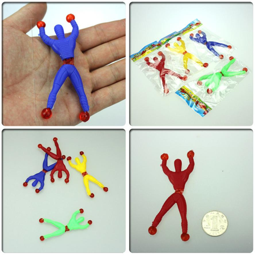 100Pcs Nostalgic Fun Climb Men Sticky Wall Climbing Flip Kids Toys Practical Jokes Dropship Y1106 ...