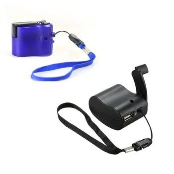 Mobile Phone Emergency Charger Usb Hand Charger Travel Hand Crank Зарядное устройство