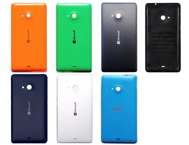 buy popular e210e 734fc US $4.2 |AAA New Mobile Phone Housing for Nokia lumia 535, Battery Cover,  Back shell, Back Cover for Microsoft Lumia 535-in Battery Charger Cases  from ...