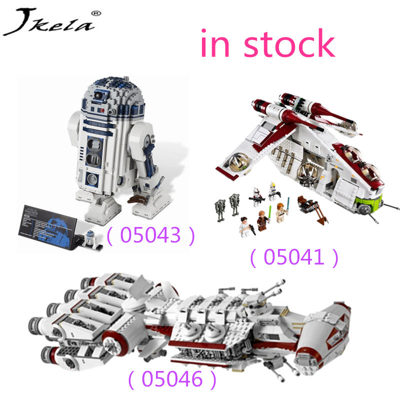 Star Wars Series 05041 05043 05046 building block toys for children Compatibility with Legoingly Star Wars