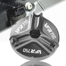 Motorcycle Engine Oil Drain Plug Sump Nut Cup Filler Cap Cover For HONDA VFR750 VFR 750 1991-1997 1996 1995 1994 1993
