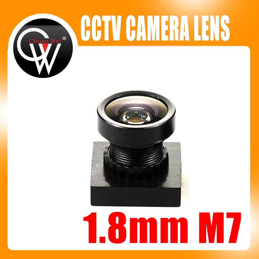 1/3 hüvelykes 1,8 mm-es objektív 170 ° fokos széles látószögű M7 * 0,5 lencse CCTV Security MINI fényképezőgéphez
