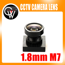 1/3″ cctv 1.8mm Lens 170degree wide angle M7*0.5 for CCTV Security MINI camera