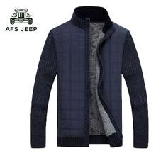 Free Shipping 2017 Autumn Winter Men's Sweaters Coat Warm Winter Cardigan Sweaters Men's Casual Warm Sweaters WN 160