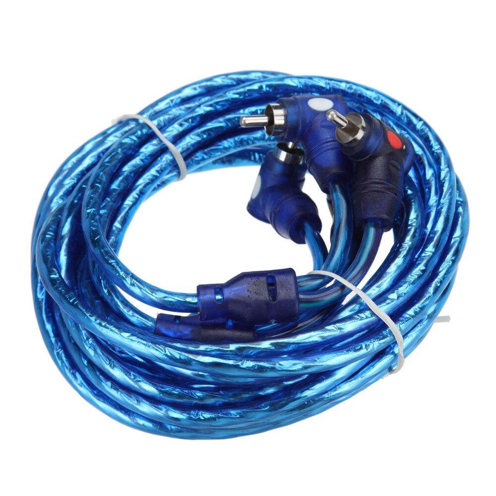1500W Car Amplifier Wire Wiring Kit 10GA 60 AMP Car Audio Sub/Amp ...