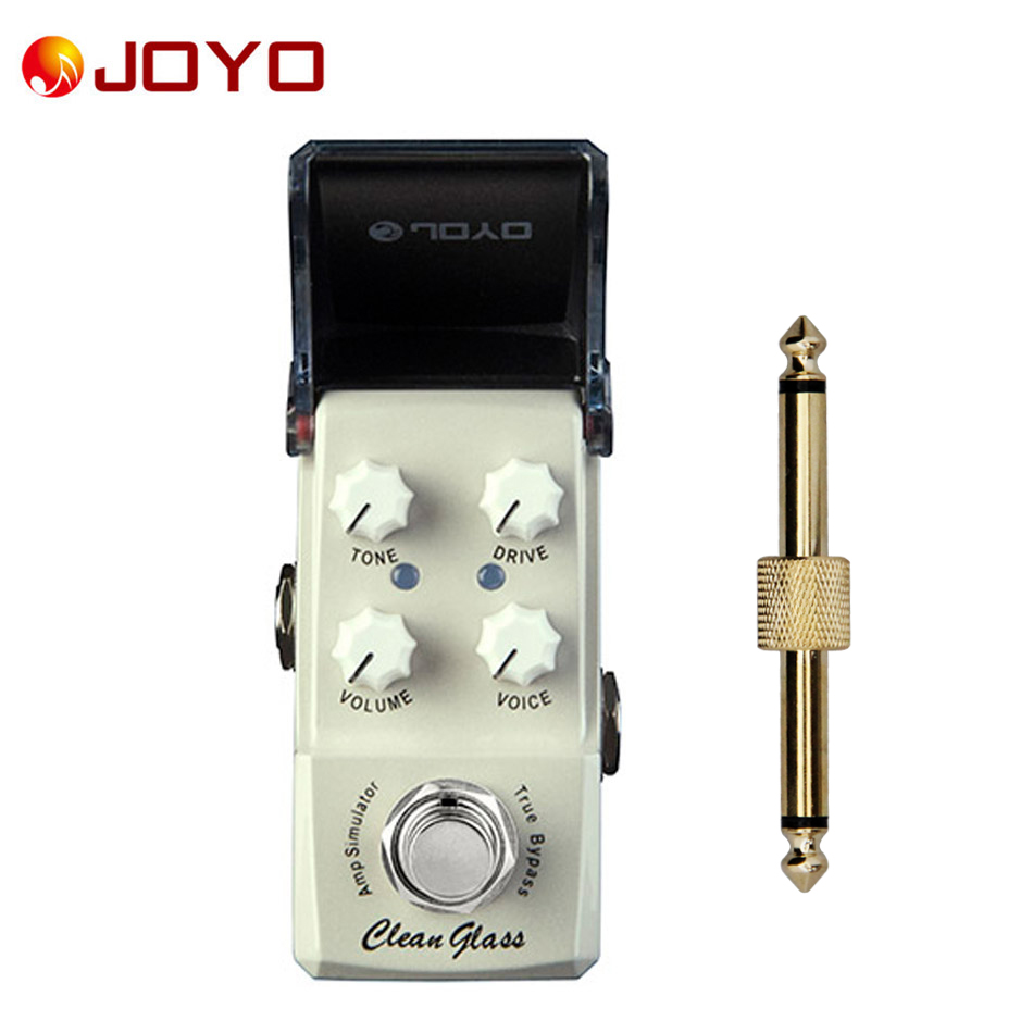 NEW Guitar effect pedal JOYO Clean Glass Ironman series mini pedal JF 307and 1 pc pedal