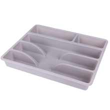 Plastic Inserts Trays Kitchen Drawers Fork Storage Tray Spoon Storage Box Knife Fork Storage Box Kitchen Utensils Accessories