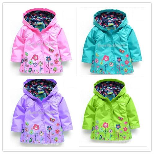 5ec780ed93587 Click here to Buy Now!! Les enfants de détail survêtement fille manteau  vêtements enfants bébé automne belle fleur veste ...