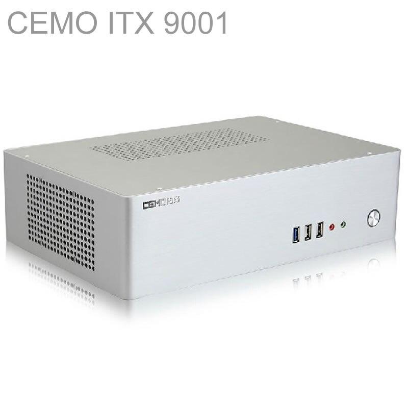 HTPC ITX Mini case with 300W Power, USB3.0, 3.5