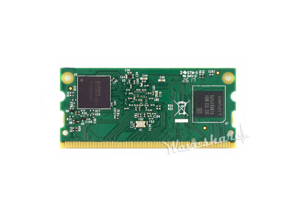 Raspberry Pi Compute Module 3 1GB RAM 4GB eMMC Flash 1 2GHz Quad core ARM Cortex