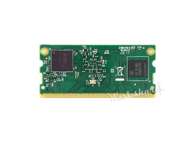 Raspberry Pi Compute Module 3 1GB RAM 4GB eMMC Flash 1.2GHz Quad-core ARM Cortex-A53 Processor Supports more OS like Windows 10